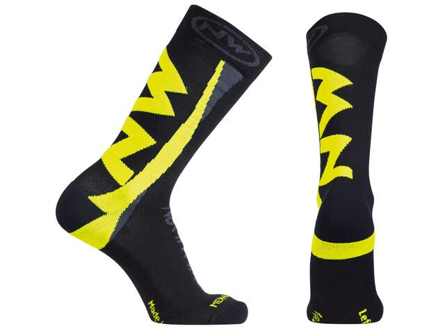 Northwave Extreme Winter Socks Men black/yellow fluo